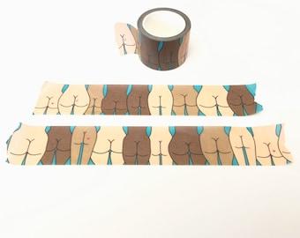 Washi Tape: Butts