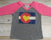 Baby Girl Colorado Flag B...