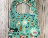 Baby Bib in Bug Catcher F...