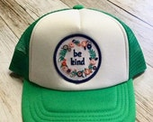 Green Toddler Trucker Hat...