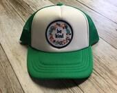 Green Toddler Trucker Hat...