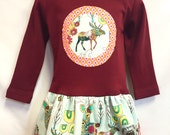 Deer/Moose Applique Girls...
