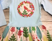 Christmas Tunic Dress- Mo...