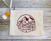 "Clutch Bag - ""The Mountains are Calling"""