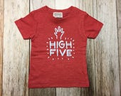 Infant Red Short Sleeved ...
