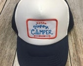 Youth Navy Trucker Hat- H...