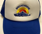 Youth/Kids Trucker Hat- with Retro Breckenridge patch- ...