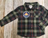 Toddler Boy Flannel with ...