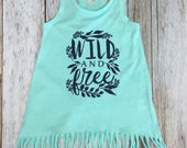 Wild and Free Mint Fringe...