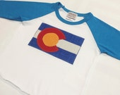 Baby Colorado Flag Baseba...