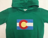 Colorado Flag Hoodie - To...