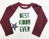 Boys Raglan Sleeved Shirt...