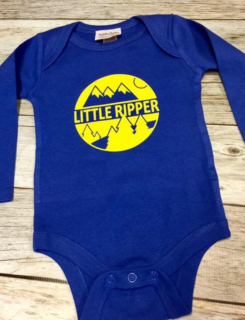 Little Ripper Bodysuit  Baby Shower Gift-Applique Layette image 0