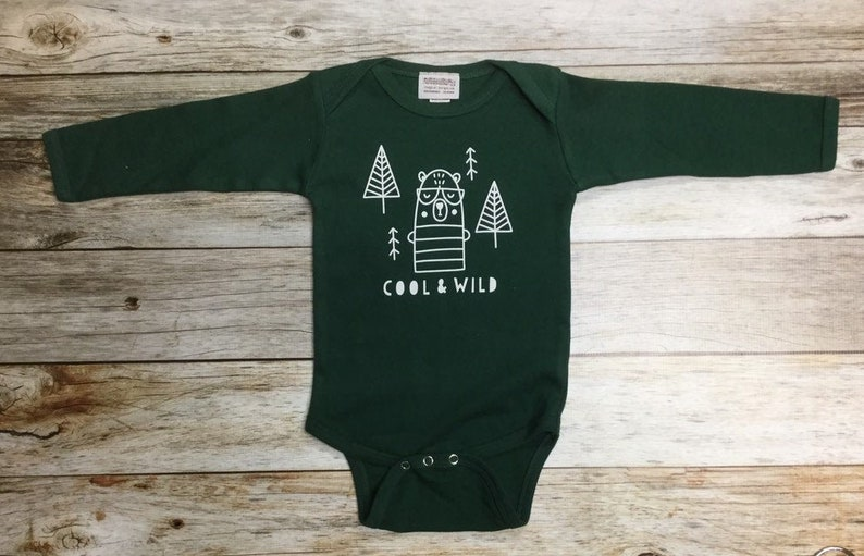 Gender Neutral Baby Gift Baby Boy Bodysuit Cool and image 0