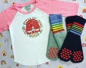 Be Kind Toddler Pink Raglan Tshirt Baseball Raglan Shirt Rainbow Be Kind