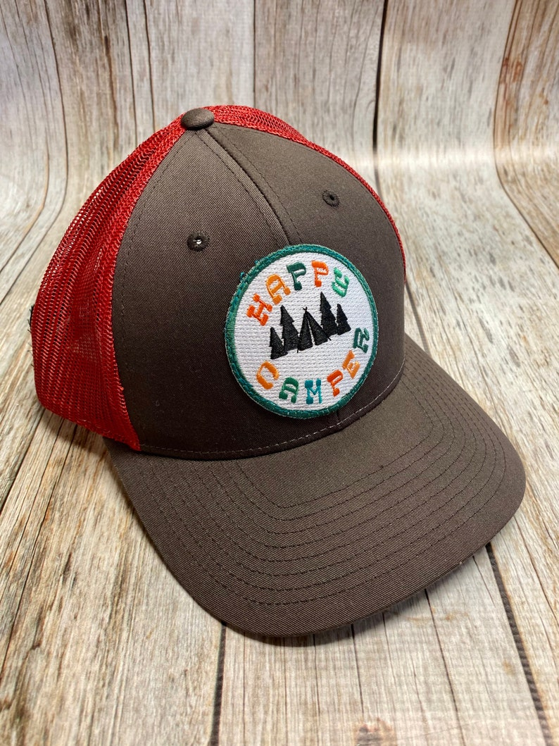 Women's Trucker Hat  Mountains are Calling Patch  image 0