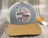Women's Trucker - Colorado Love Patch Trucker Hat- Cute Girly Trucker
