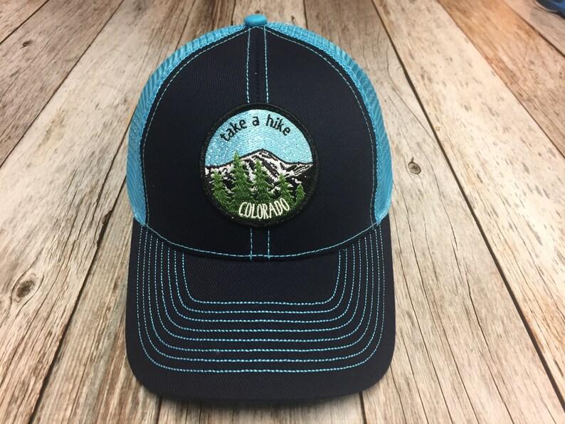 Women's Trucker Hat  Take a Hike Colorado image 1