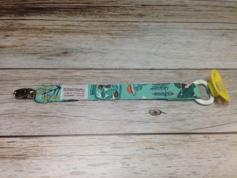 Pacifier Strap  Binky Strap Paci Strap  Baby Pacifier image 0