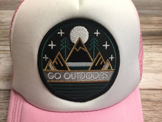 fde34b0475b Toddler Kids Girl s Trucker Hat pink with Go
