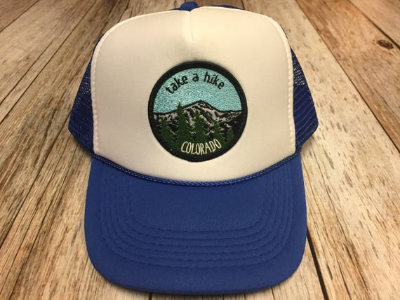 9316d8b9257 Youth Kids Trucker Hat with Take a Hike Patch