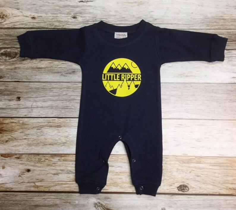 Little Ripper Romper Baby boy gift Baby Shower Baby Ski image 0
