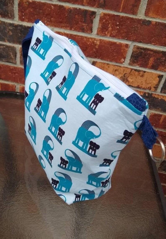 Blue Elephants XL Pocket