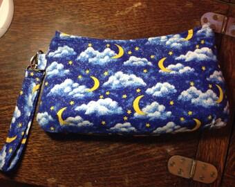 Glitter Night Coraline Wristlet