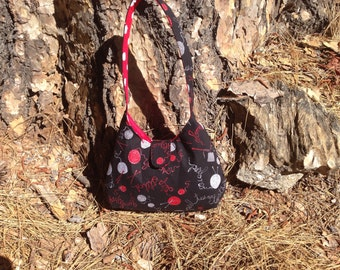 Knitting Phoebe purse