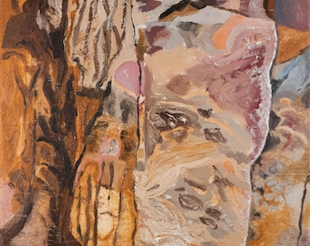 The Portrait of Mr. Píro's Rock - original painting by Jan Karpíšek