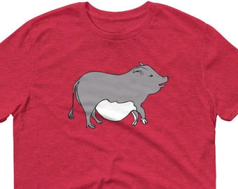 Potbelly Pig T Shirt Unique Potbellied Pig Shirt Gifts Micro Mini Animal Tshirt Gift for Pot Belly Pig Lover Unisex