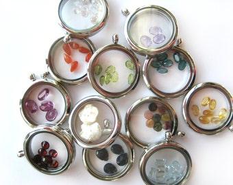 Citrine - November Gemstones to add to your glass memory locket, birthstones, birthmonth