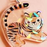 Little Tiger Charm Keychain