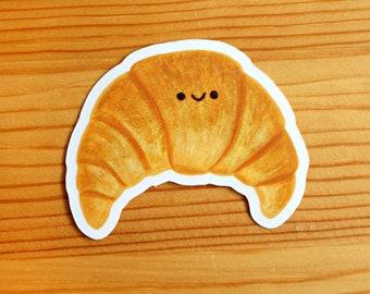 Croissant Pastry Food Vinyl Sticker