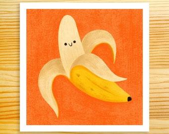 Banana 5x5 Art Print