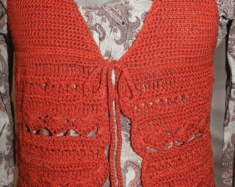 Baby Doll Halter Vest Top Crochet Pattern