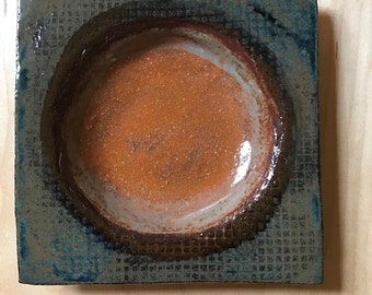 Wall Tile, Concave or Tapas Dish