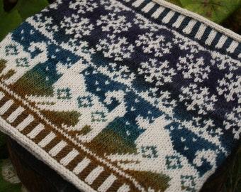PDF Knitting Pattern - Iditarod Cowl