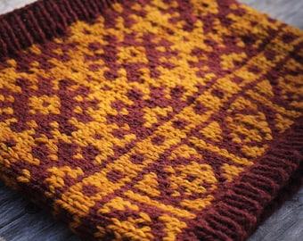 PDF Knitting Pattern - Solstice Cowl