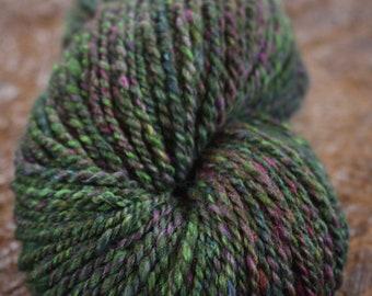 Queen's Garden - Handspun Alpaca, Cashmere, Merino, snd Silk