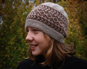 PDF Knitting Pattern - Garfield Road Hat