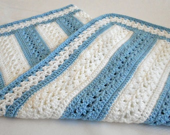 Crochet Pattern - Fairfax Baby Afghan Pattern - Babyghan Afghan - Baby Blanket Pattern - PDF Format
