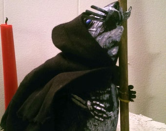 Upcycled Custom Death as SQUEAKY Rat Reaper by Studio777