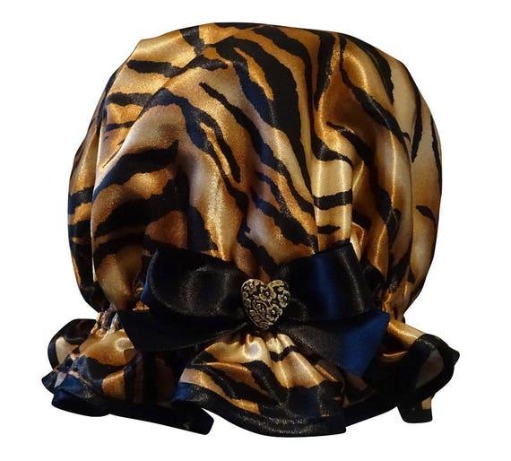 Bonnet de douche dames - imprimé Animal TigerLily