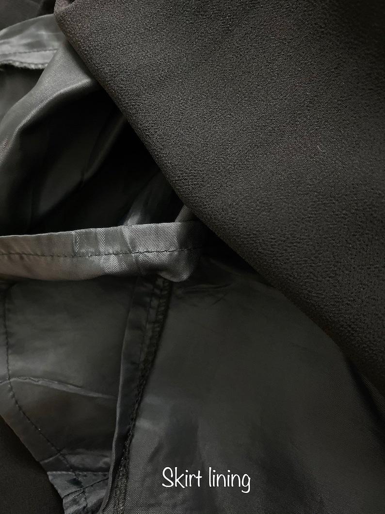 Vintage Illusion Dress with Jacket by Vivace Italy \u2022 Size 10 Medium