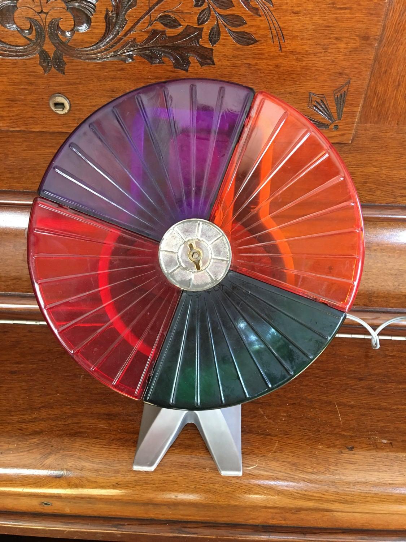 Color Wheel For Christmas Tree.Christmas Tree Color Wheel Mid Century Vintage Plastic