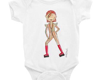 Little Bowie Infant Bodysuit