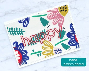 happy card, graduation card for her, floral birthday card for mom, congratulations card, cheer up card for friend, encouragement card