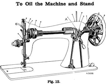 C1945 Singer Sewing Machine Manual 66-18 Book Attachments