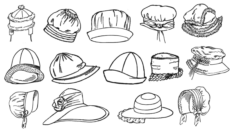 veinte sombreros libro Flapper prohibición Era niño pequeño   Etsy